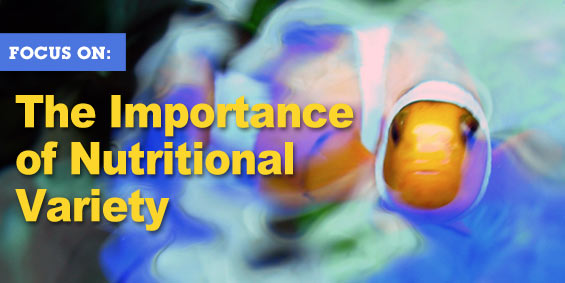 Importance of nutritional variety