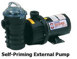 Self-Priming External Pumps