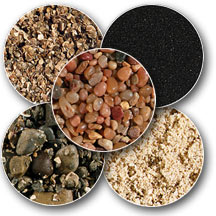 Variety of Aquarium Substrate