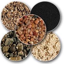 Variety of Aquarium Substrate