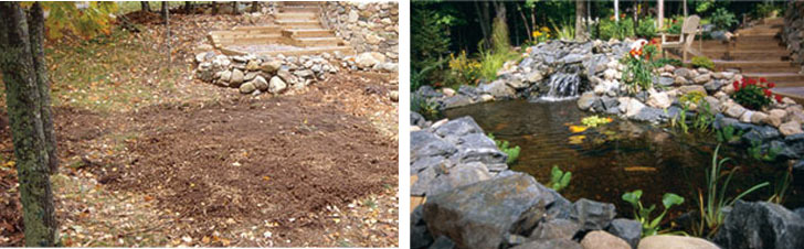 Fall tips for new ponds & water gardens: design & build your pond during fall
