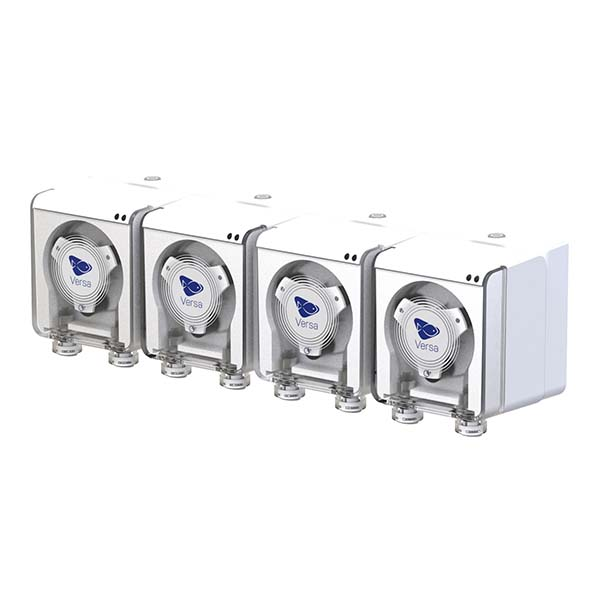 EcoTech Marine Versa Peristaltic Pump 4 Pack with Base Station