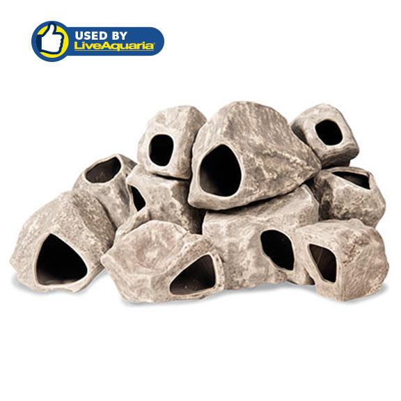 "Underwater Galleries Cichlid Stone 10-piece ""Big Rock Box"""