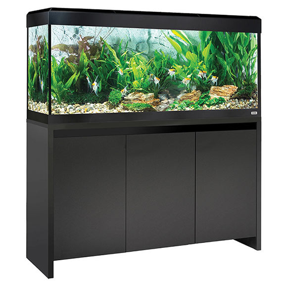 Fluval Roma 240 Aquarium Kit with Stand - Black