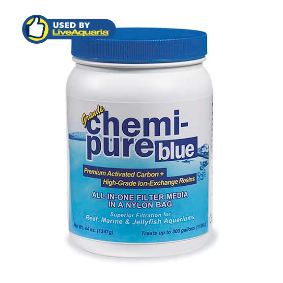 Boyd Enterprises Chemi-Pure Blue 44 oz Activated Carbon & Ion-Exchange Resins