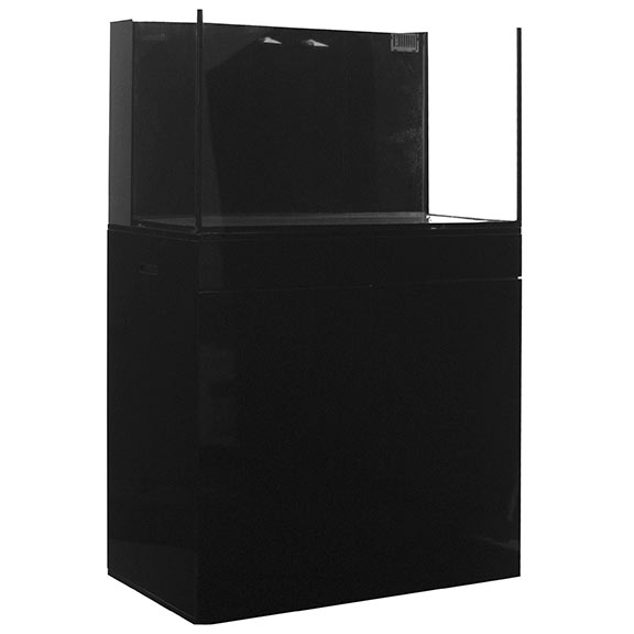 JBJ Rimless Flat Panel AlO 65 Gal. Aquarium
