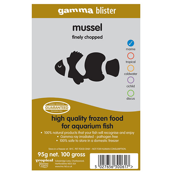 Gamma Blister Finely Chopped Mussel