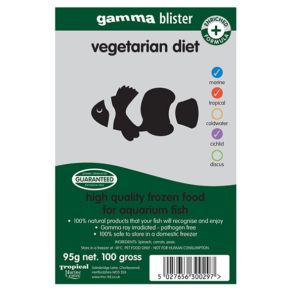 Gamma Blister Vegetarian Diet