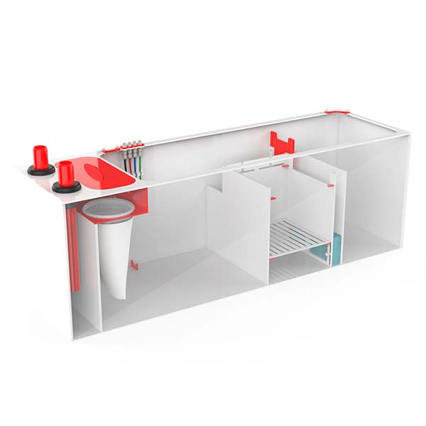 Pro Clear Red Flex 4 in 1 Sump 600