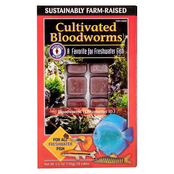 San Francisco Bay Brand Frozen Cultivated Bloodworms