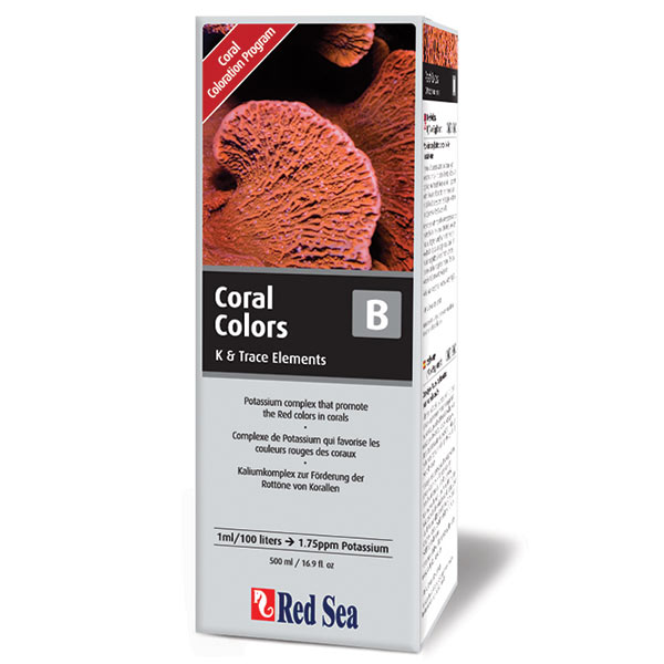 Red Sea Coral Colors B Reef Supplement