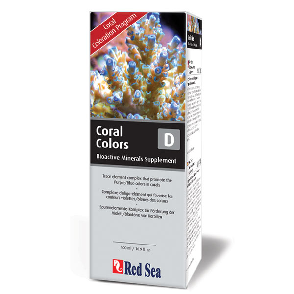 Red Sea Coral Colors D Reef Supplement