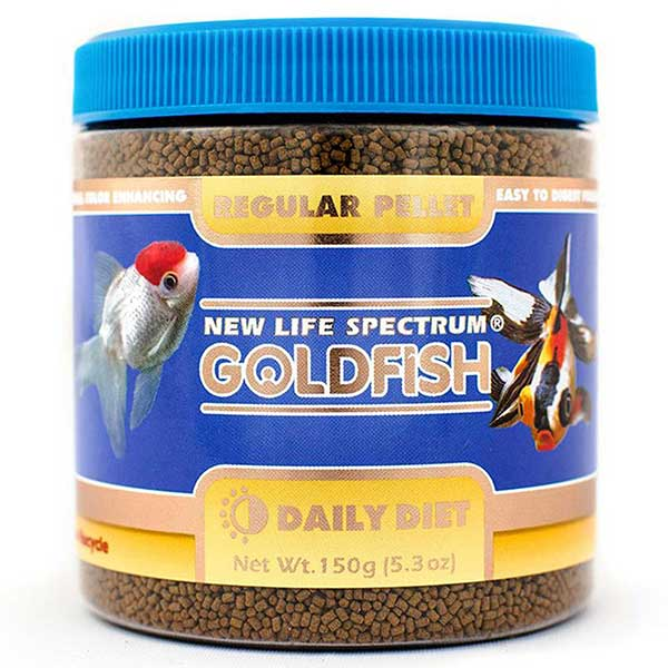 New Life Spectrum Goldfish Regular Pellet Complete Food Diet