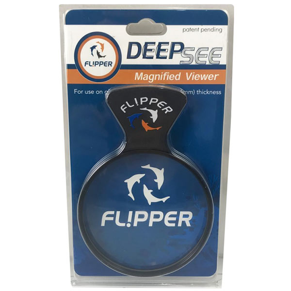 "Flipper DeepSee Magnetic Aquarium Viewer 4"" Lens"