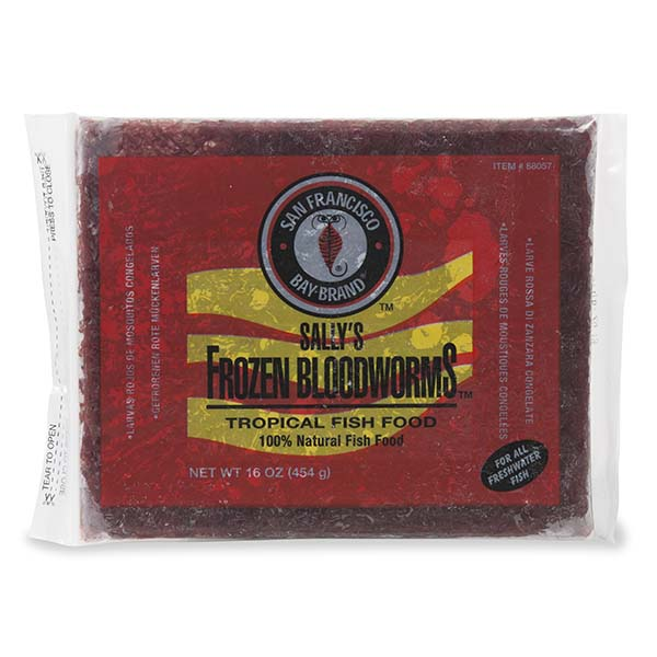 San Francisco Bay Brand Bloodworms – Flat Pack