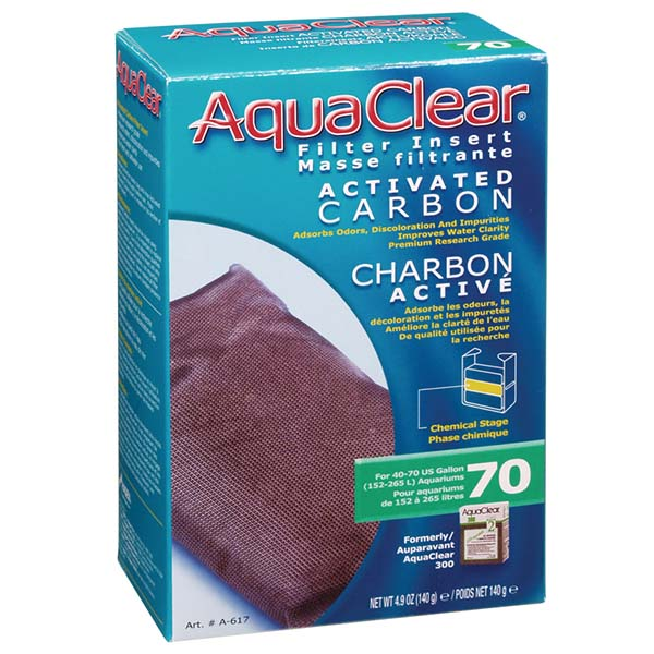 Hagen AquaClear Activated Carbon Filter Media