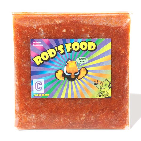 Rod's Food Coral Blend Frozen Coral Food