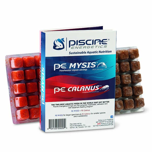 Piscine Energetics Mysis & Calanus Twin Pack
