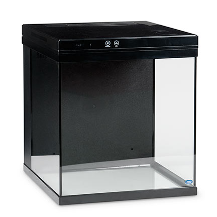 JBJ Cubey Nano All-In-One Aquarium - 15 Gallon, Black