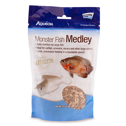 Aqueon® Monster Fish Medley Fish Food