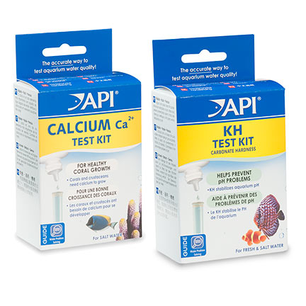 API KH/Carbonate & Calcium Test Kits