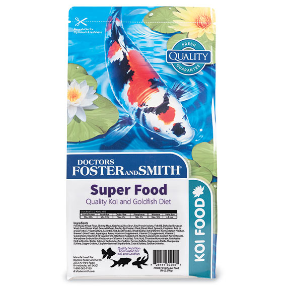 Super Food Koi Food by Drs. Foster & Smith
