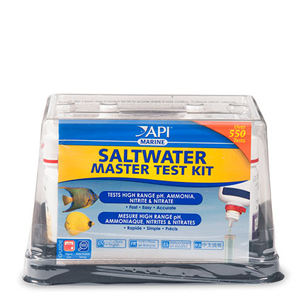 Liveaquaria approved aquatic supplies api saltwater for Fish tank water test kit