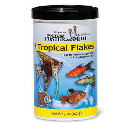 Drs. Foster & Smith Tropical Flakes Fish Food