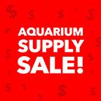 Aquarium Supply Sale