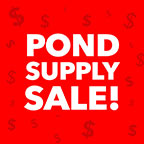 Pond Supply Sale