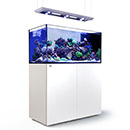 Red Sea REEFER™ DELUXE Peninsula 500 Rimless Reef Ready System, White