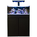 Cobalt Aquatics C-Vue Complete Aquarium Kit, 40 gallon, Black, Reef