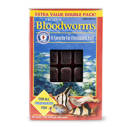 San Francisco Bay Brand Bloodworms - Frozen Cubes
