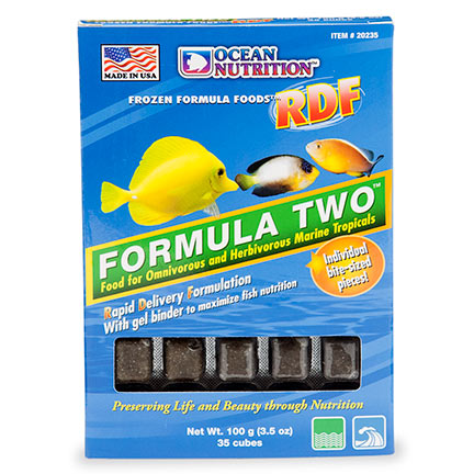 Ocean Nutrition Formula Two RDF Frozen Fish Food
