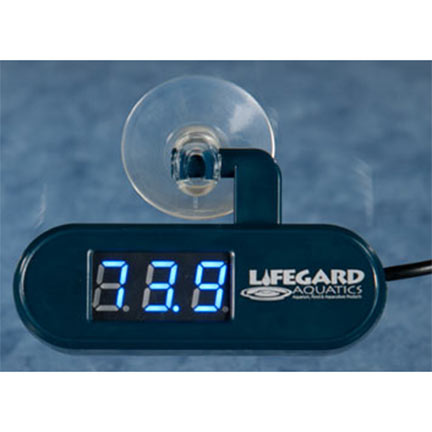Lifegard Aquatics Big Digital Temp Alert