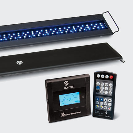 Current USA Orbit Marine LED Saltwater Reef Lighting System