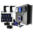 "48"" Current LOOP Marine Bundle Orbit Marine IC PRO LED Light, Wave Pump, & DC Flow Pump Kit"