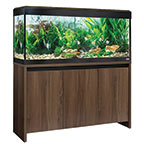 Fluval Roma 240 Aquarium Kit with Stand - Walnut