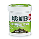 Fluval Bug Bites Bottom Feeder Sinking Fish Food Granules for Small to Medium Plecos