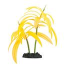 Glow in the Dark Orange Palm Aquarium Ornament