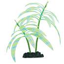 Glow in the Dark Blue Stripe Palm Aquarium Ornament