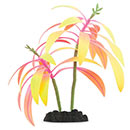 Glow in the Dark Rose Gradient Palm Aquarium Ornament