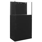 JBJ Rimless Flat Panel AlO 45 Gal. Aquarium