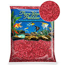 Pure Water Pebbles® Red Aquarium Gravel, 5 lb Coated Pebbles