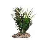 RockGarden Large Resin Base Aquarium Plant