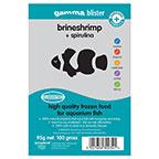 Gamma Blister Brine Shrimp Plus Spirulina