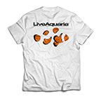 LiveAquaria T-Shirt - Gladiator Clownfish
