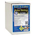 San Francisco Bay Brand Frozen Brine Shrimp Roll-A-Cubes