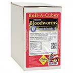 San Francisco Bay Brand Frozen Bloodworms Roll-A-Cubes
