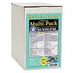 San Francisco Bay Brand Frozen Saltwater Multi-Pack Roll-A-Cubes
